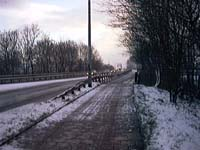 Bridge over AmsterdamRijnKanaal, Mondaymorning, 08-02-1999